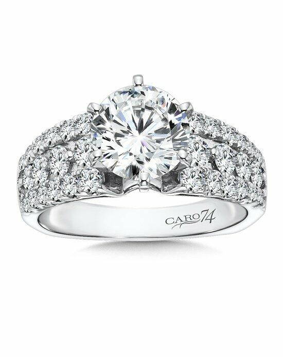 Caro 74 CR174W Engagement Ring photo