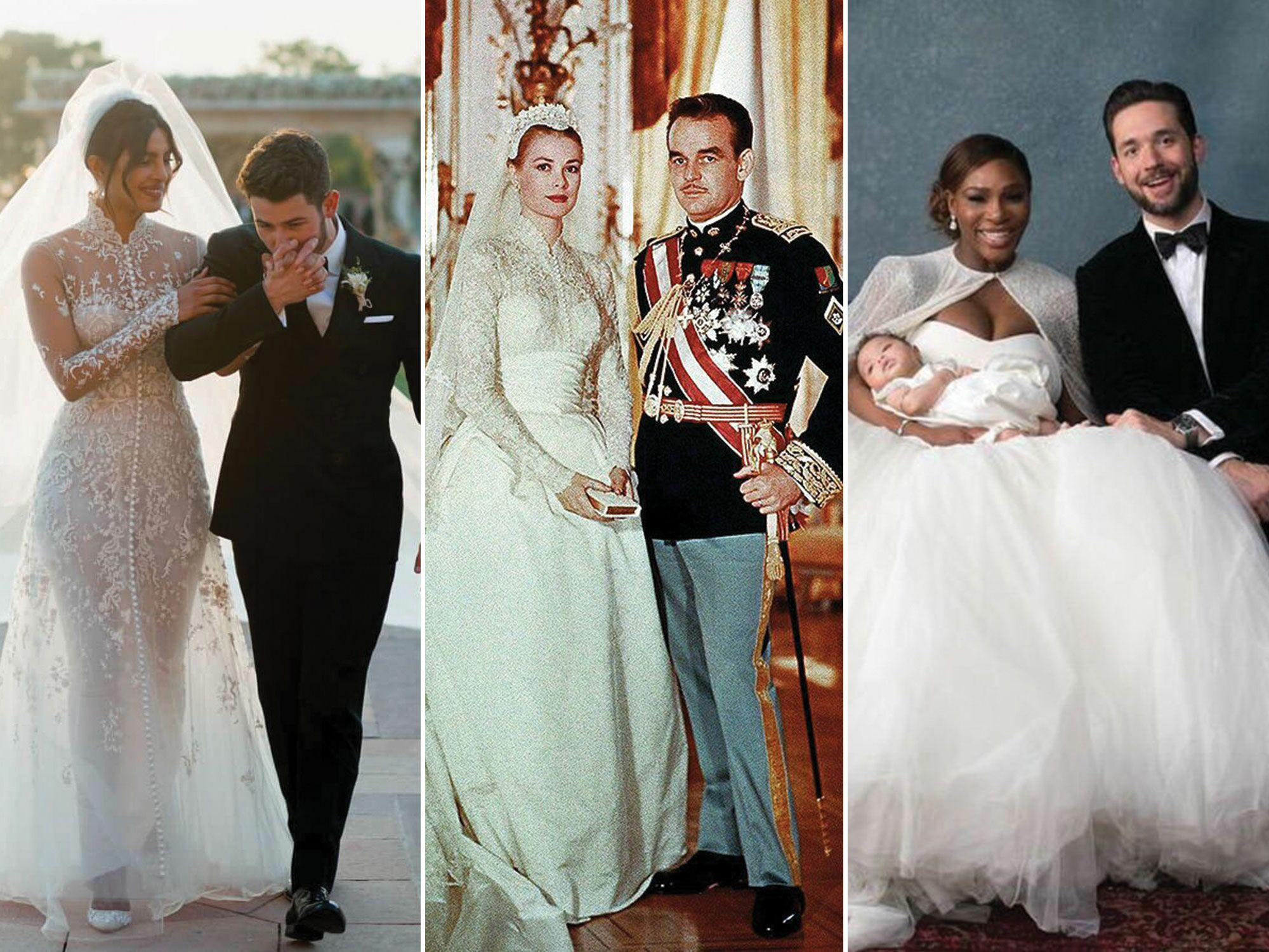 The 52 Best Celebrity Wedding Dresses Of All Time