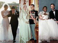 Priyanka Chopra and Nick Jonas Wedding; Gracey Kelly's wedding dress; Serena Williams wedding dress