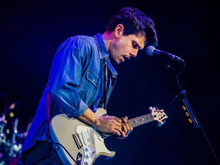 John Mayer outdoor concert