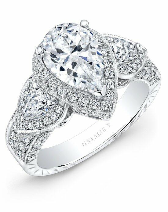 Natalie K Renaissance Collection - NK15191-W Engagement Ring photo