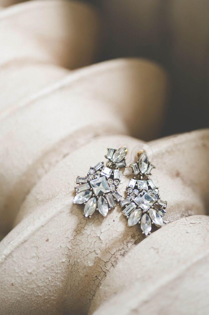 Crystal Drop Errings