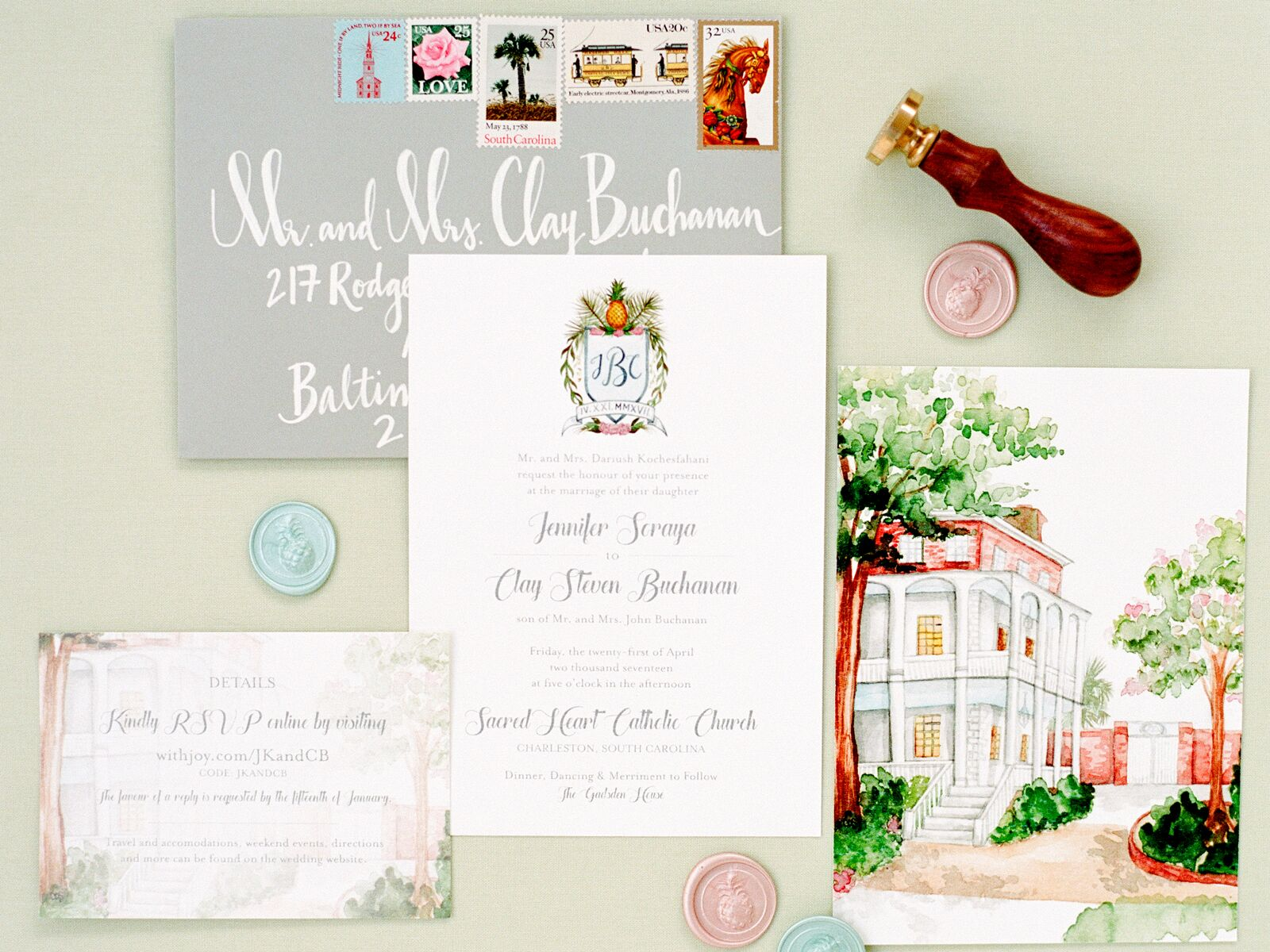 Wedding Stamps Tips Examples