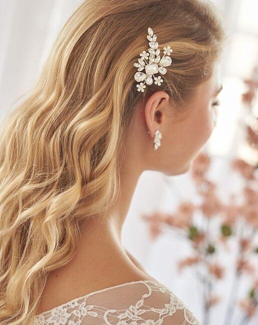 Dareth Colburn Hailey Crystal Hair Clip (TC-2439) Gold, Pink, Silver Pins, Combs + Clip