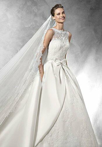 Pronovias trudy wedding dress the knot for Trudy s wedding dresses
