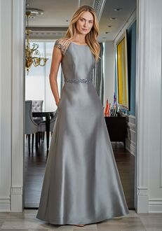 Jade Mother of the Bride by Jasmine J225011 Black,Blue,Brown,Champagne,Gray,Green,Ivory,Pink,Purple,Red,Silver,White Mother Of The Bride Dress
