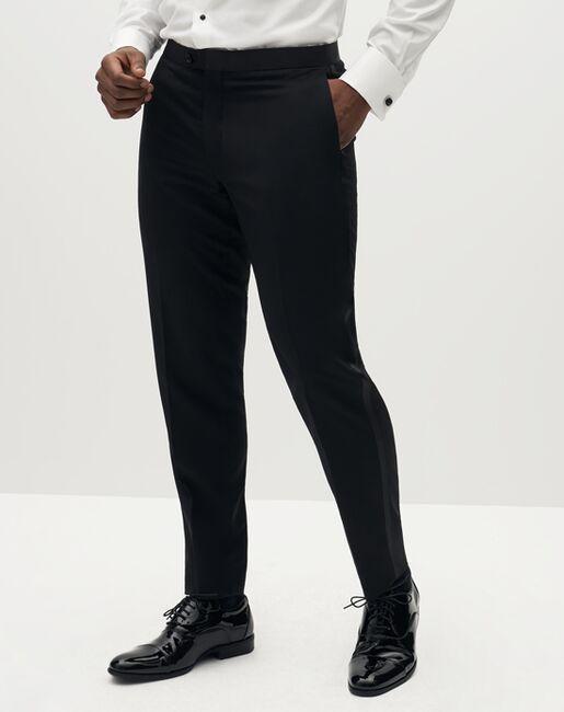 Suit Shop Men's Classic Black Tuxedo Black Tuxedo