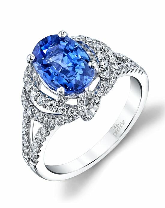 Parade Design Style R3582 from the Parade in Color Collection Engagement Ring photo