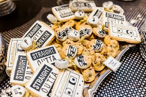 Cookie Spread with Personalized Music and Mixtape Icing