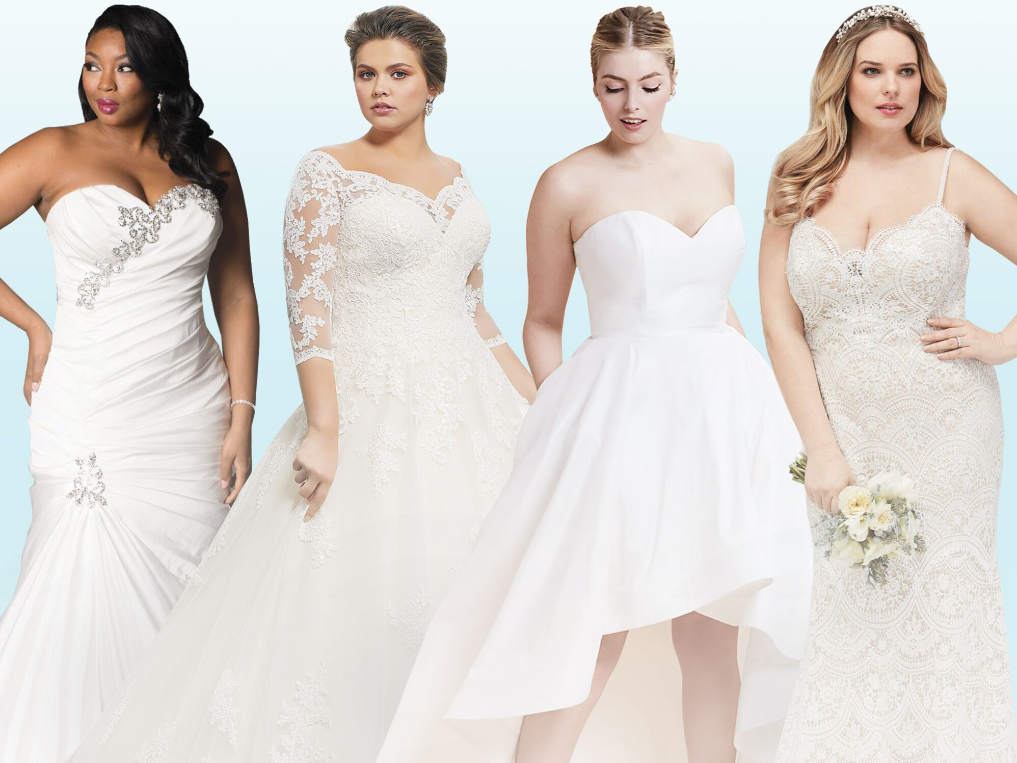20 Gorgeous Plus Size Wedding Dress You Ll Love,Pencil Wedding Dresses Uk