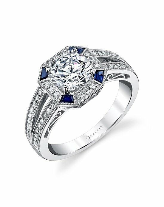 Sylvie Collection S4119 Engagement Ring photo