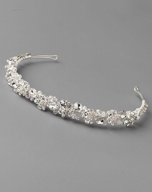 Dareth Colburn Eliza Crystal Headband (TI-3303) Silver Headband