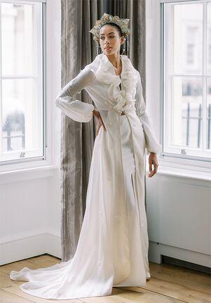 Cynthia Grafton-Holt Couture SOPHIA Bridal Coat Dress A-Line Wedding Dress