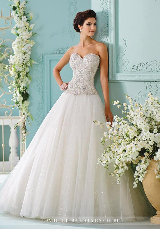 David Tutera for Mon Cheri 216258 Saphia Wedding Dress photo