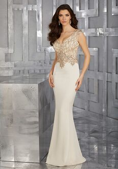 MGNY 71618 Champagne,Red Mother Of The Bride Dress