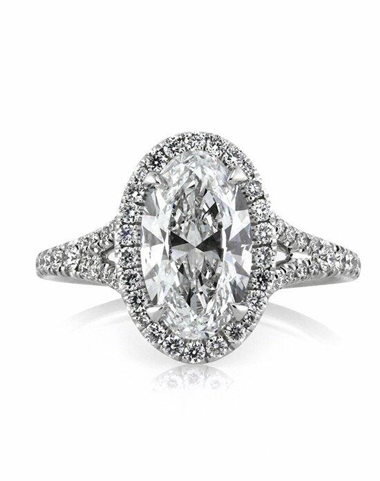 Mark Broumand 2.31ct Oval Cut Diamond Engagement Ring Engagement Ring photo