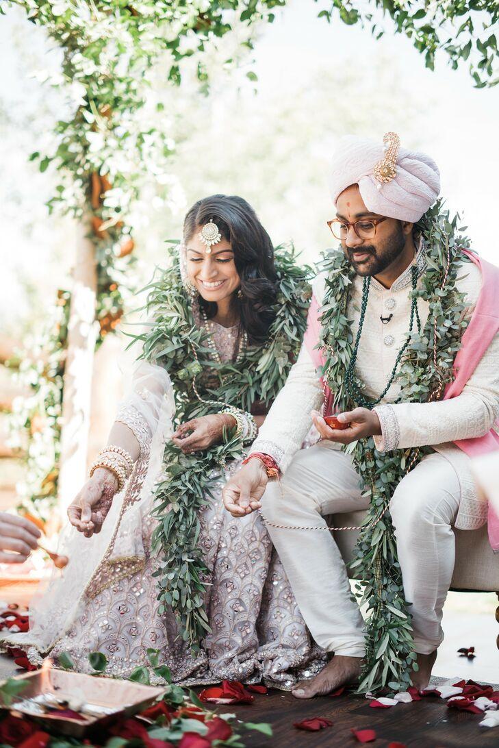 Bride and Groom at Wedding at the Ritz-Carlton Bachelor Gulch in Avon, Colorado