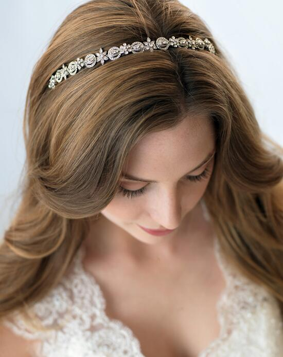USABride Paige Antique Silver Headband TI-3158 Wedding Headbands photo