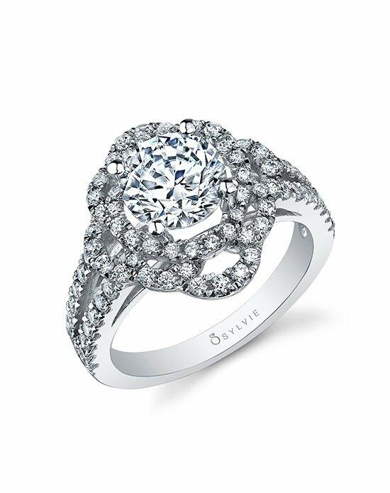 Sylvie Collection S1045 Engagement Ring photo