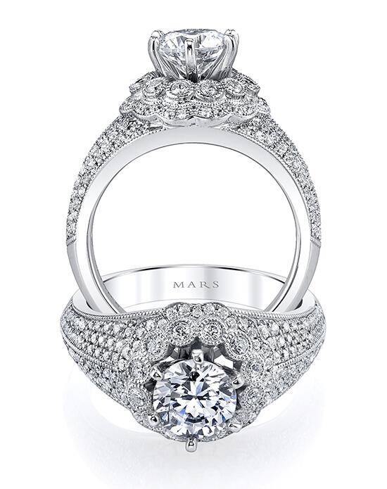 MARS Fine Jewelry 26178 Engagement Ring photo