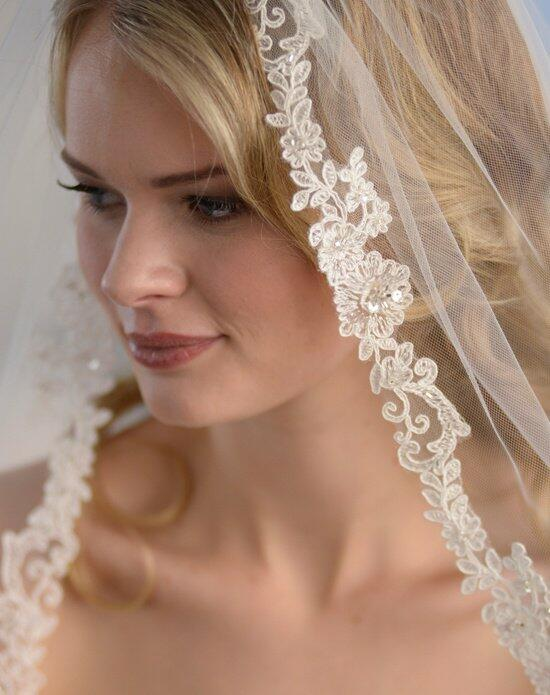 USABride 1-Layer, Francesca Lace Veil VB-5028 Wedding Veils photo