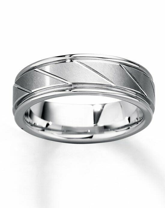 Kay Jewelers White Tungsten Carbide 7mm Wedding Band-251985002 Wedding Ring photo