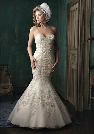 Allure Couture C348 Mermaid Wedding Dress