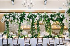 Wedding Reception at the Mansion at Natirar in Peapack, New Jersey
