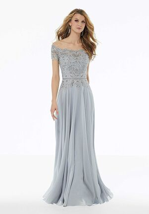 MGNY 72133 Pink,Silver Mother Of The Bride Dress