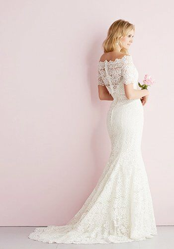 Allure Romance 2700 Sheath Wedding Dress