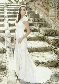 Allure Romance 2455 Sheath Wedding Dress