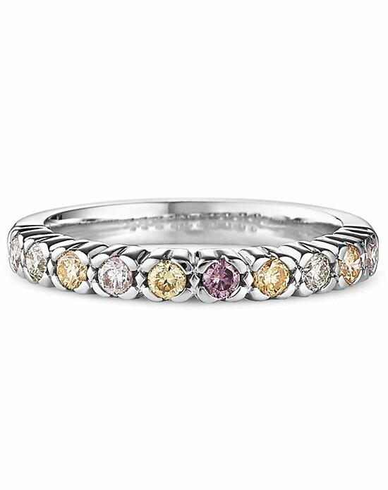 Ritani Multi Fancy Colored Diamond Stacking Ring in 18kt White Gold (0.38 CTW) Wedding Ring photo