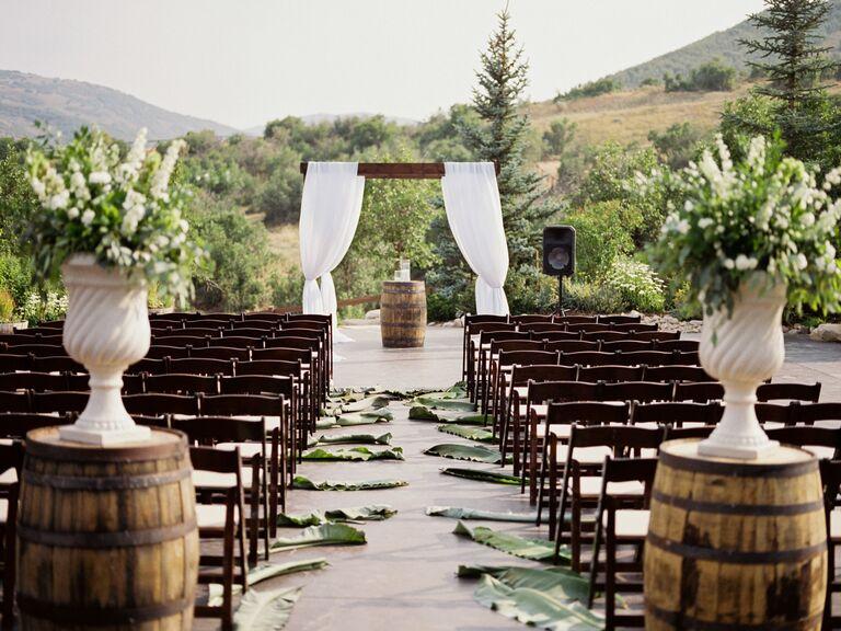 Wedding venue in Wanship, Utah.