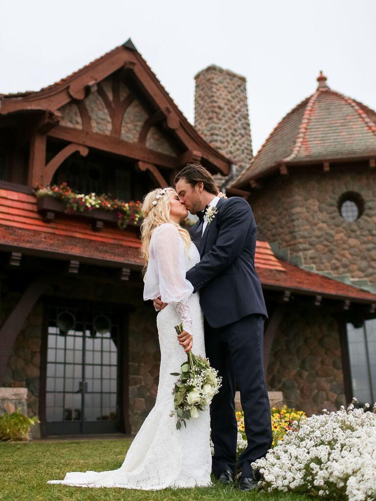 Castle wedding venue in Moutonborough, New Hampshire
