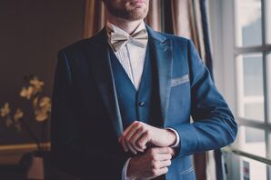Solid-Gold Bow Tie