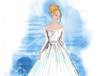 The Cinderella wedding dress