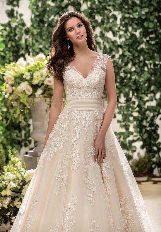 Jasmine collection f181063 wedding dress the knot for Jasmine collection wedding dresses