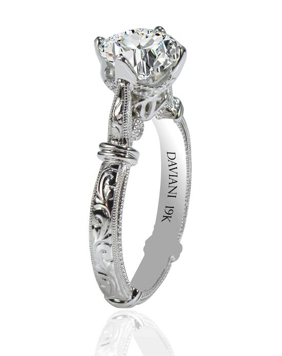 Daviani Love Links Collection DCR1129 Engagement Ring photo