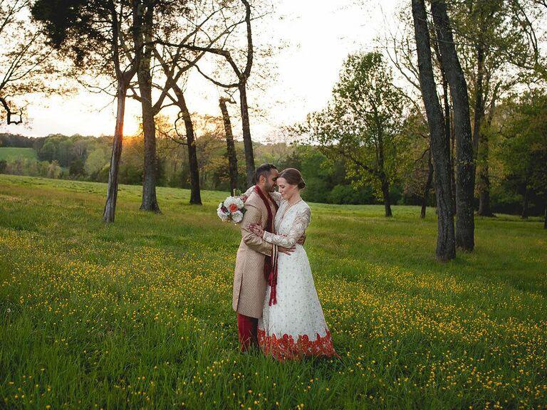 Farm wedding venue in Summerfield, North Carolina.