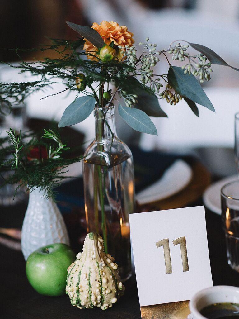 Wedding Centerpieces Seasonal Vegetables