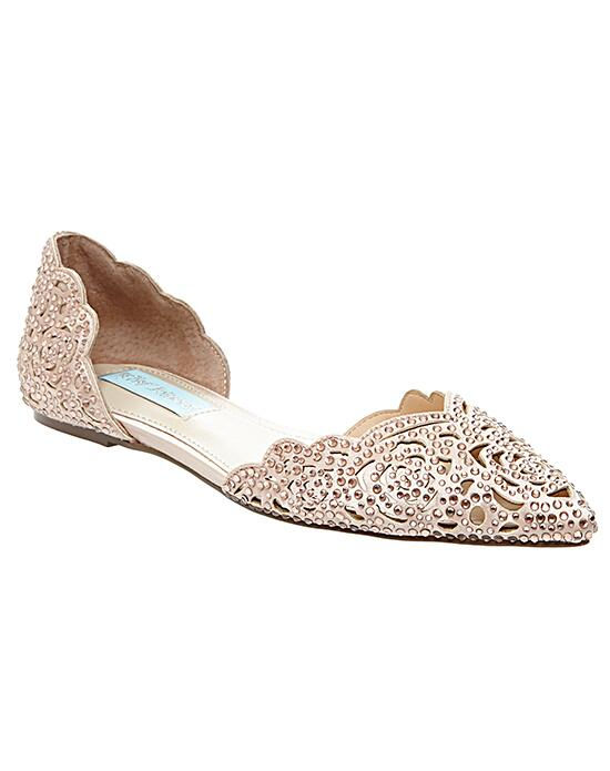 Blue by Betsey Johnson SB-LUCY-champagne Wedding Shoes photo