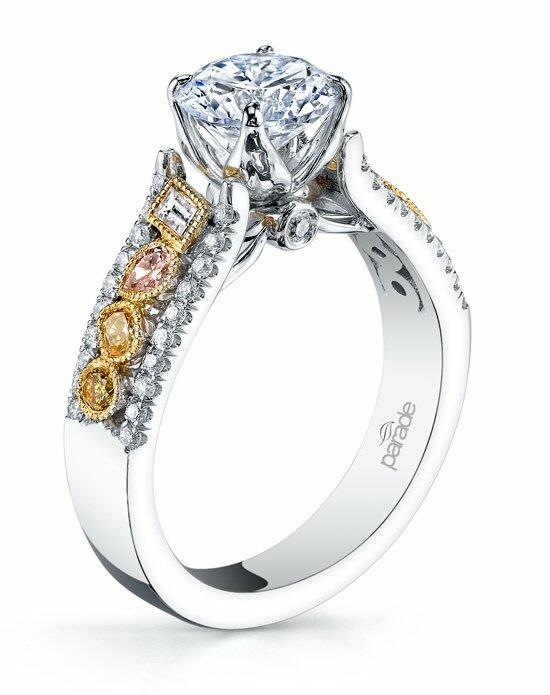 Parade Design Style R3100 from the Reverie Bridal Collection Engagement Ring photo