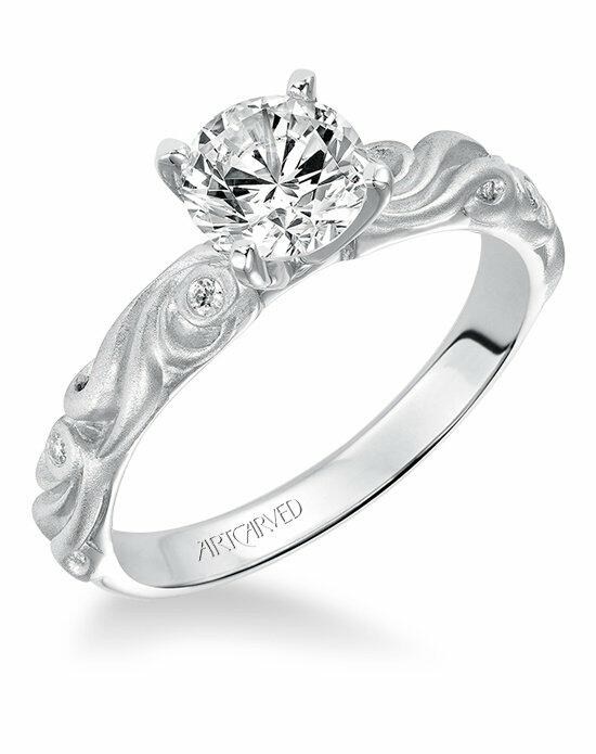 ArtCarved 31-V100ERW Engagement Ring photo