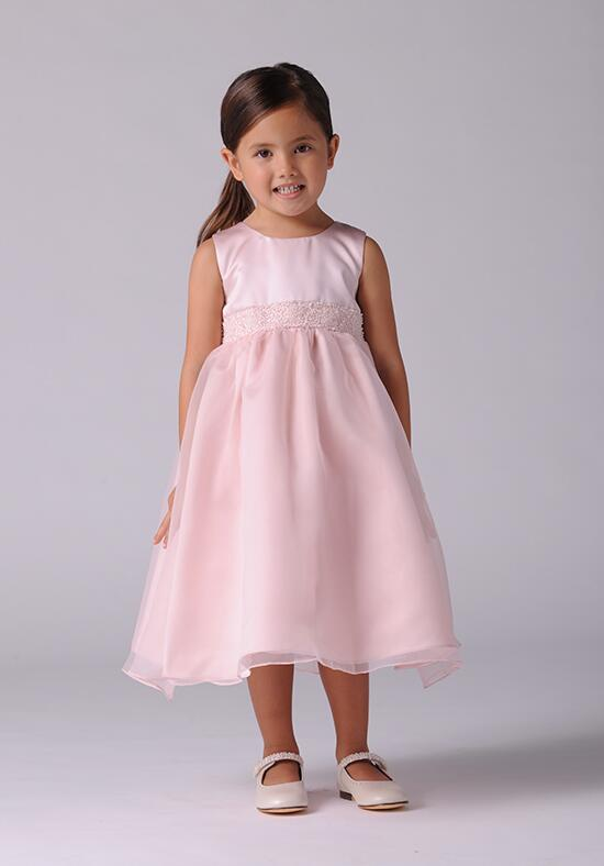 Us Angels Beautiful Color The Elizabeth Dress-172_pink Flower Girl Dress photo