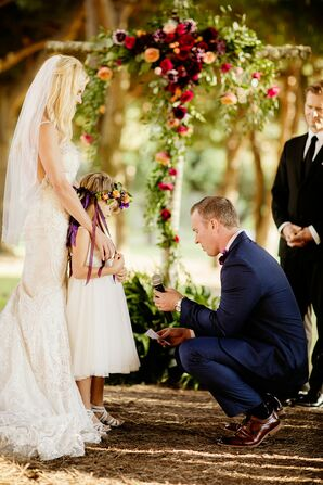 The Groom Said Vows to the Bride's Daughter During the Ceremony