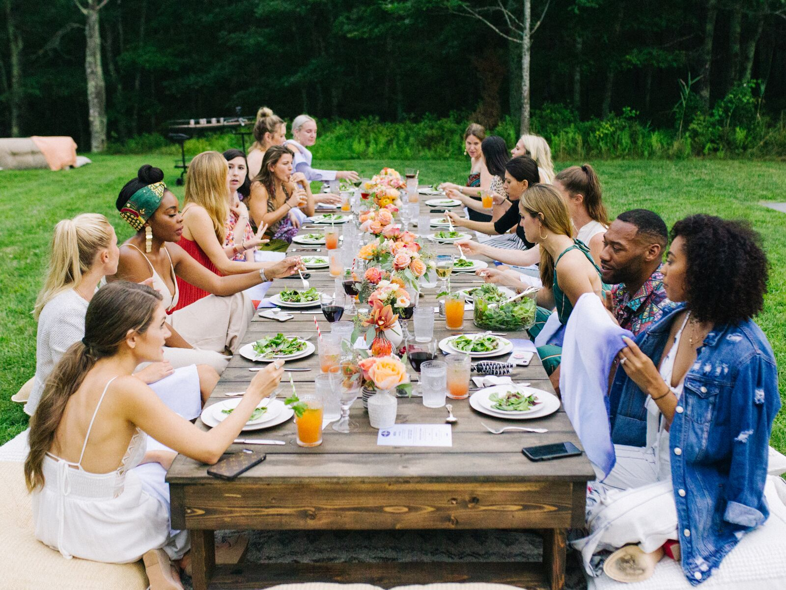 Summer Weekend Bachelorette Party Ideas From Amex Ties The Knot Party