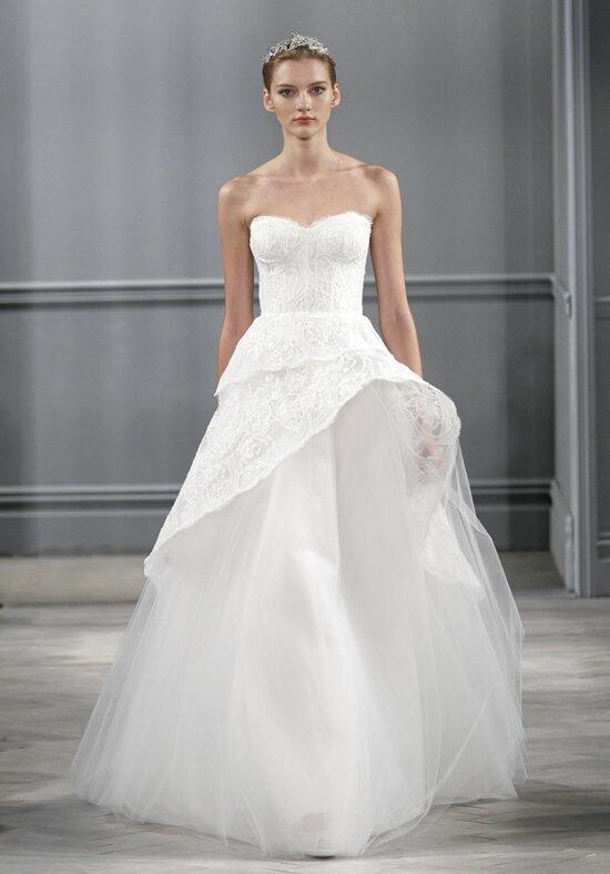 Monique Lhuillier Azure Wedding Dress photo