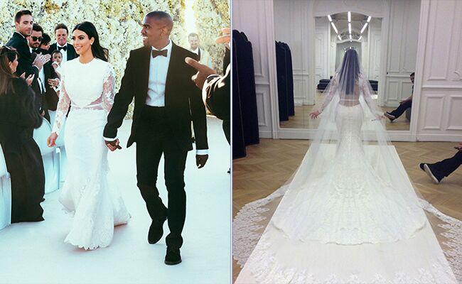 The Ultimate Kim Kardashian Wedding Dress Guide