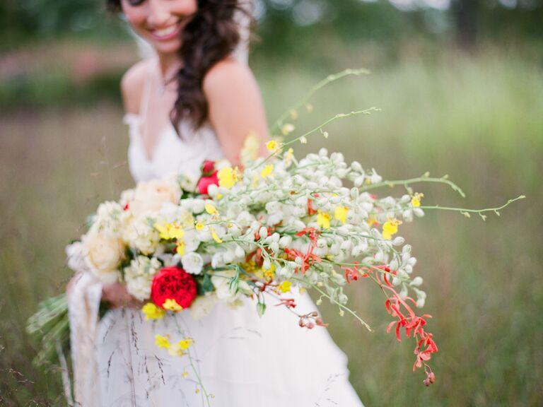 Freesia braidal bouquet