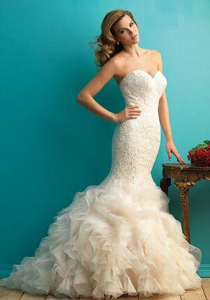 Allure Bridals 9254 Sheath Wedding Dress